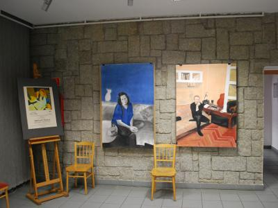 True stories - solo exhibition of paintings and drawings – Tychy, Poland, 2015